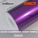 Gloss Aluminium - Candy Purple
