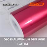 Gloss Aluminium - Deep Pink