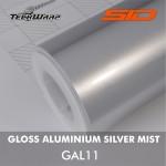 Gloss Aluminium - Silver Mist