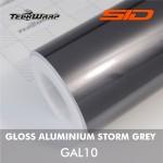 Gloss Aluminium - Storm Grey