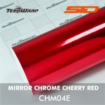 Mirror Chrome - Cherry Red