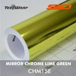 Mirror Chrome - Lime Green