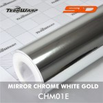 Mirror Chrome - White Gold