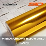 Mirror Chrome - Yellow Gold